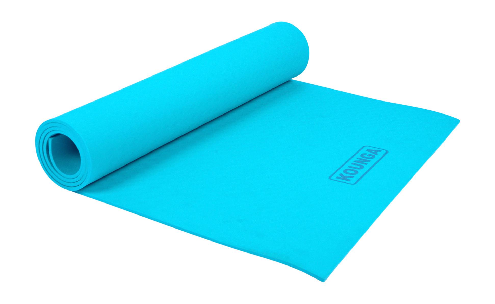 Mat de Yoga Kounga 5mm para Niños TPE Bicolor con correa para transportar