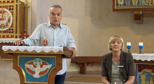 VIDEO: Sakrament Braka. Baške Oštarije. 18.07.2019 / 2 EURO = 8.000 COP