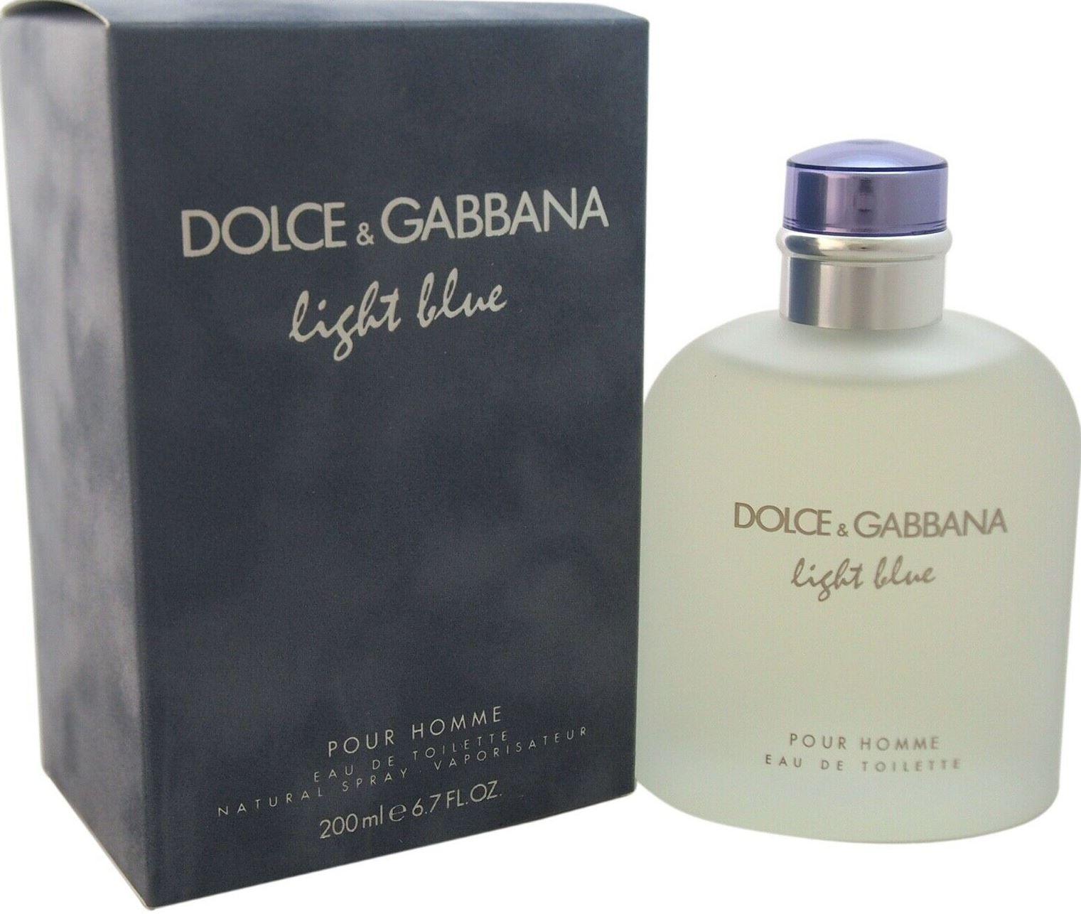 Light Blue Edt de 200 ml