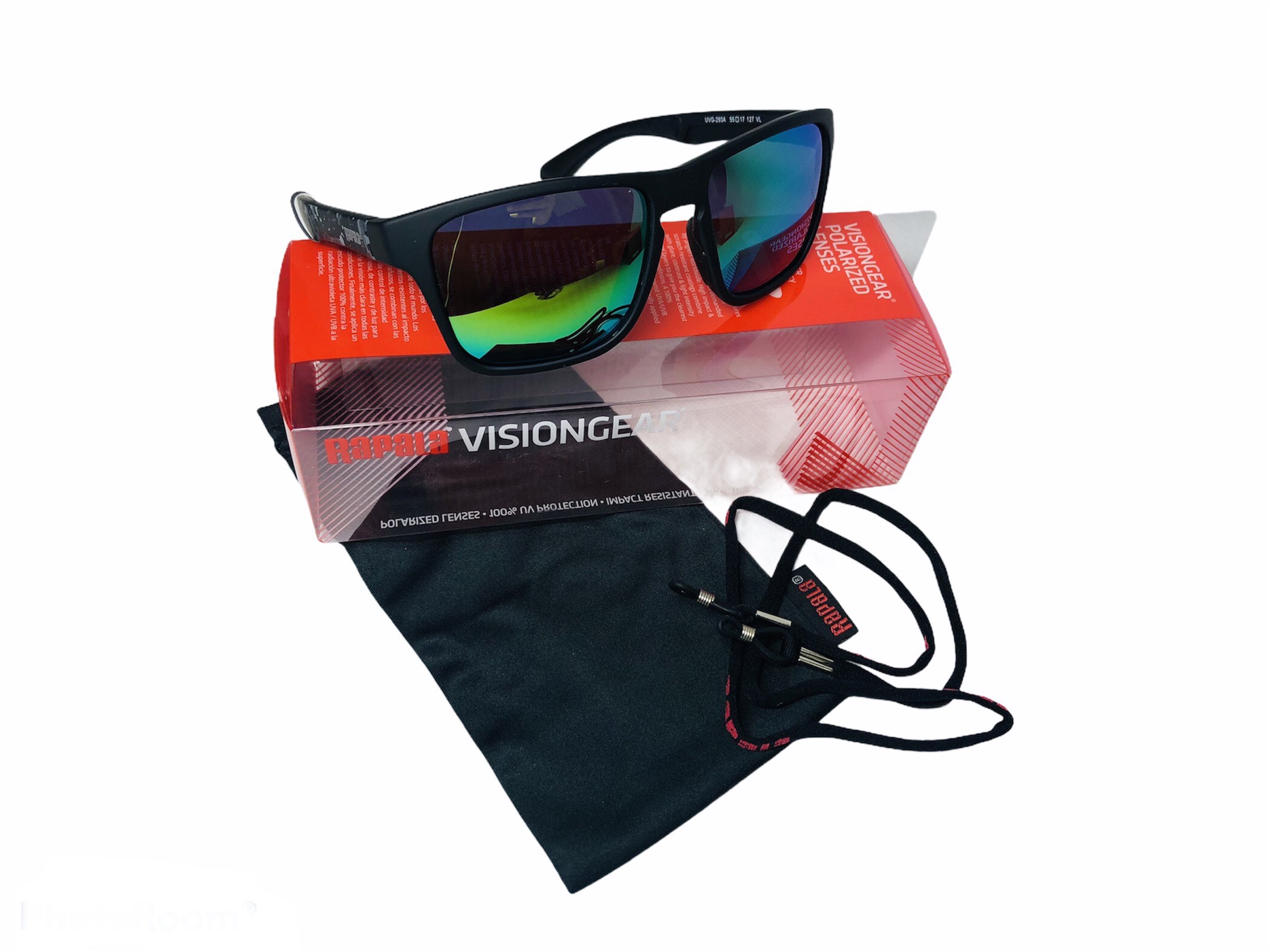 rapala vision gear urban black camo