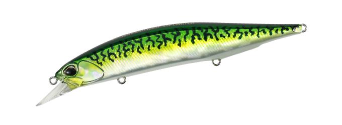 Duo Realis Jerkbait 120SP Green Mackerel Lux