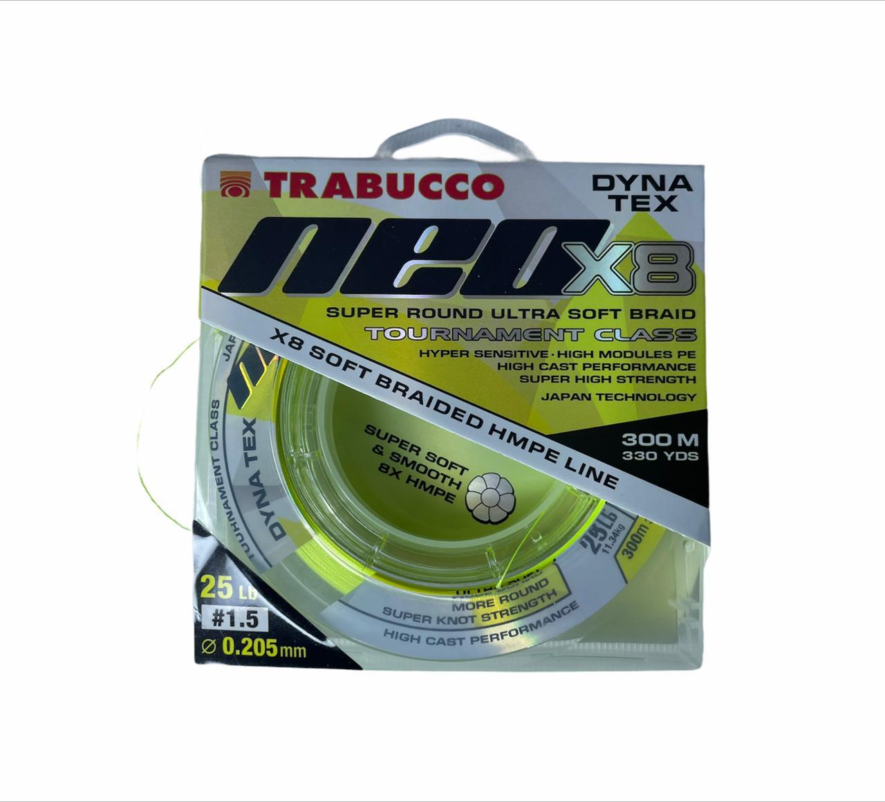 Trabucco NEO x8 0.20mm 300m (11kg)