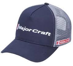 Gorro Major Craft azul con gris