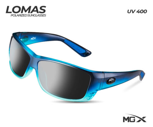 MGX lentes lomas #004 (marco azul/cristal negro)
