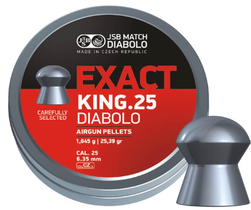 JSB Exact King 6.35 25.39Gr