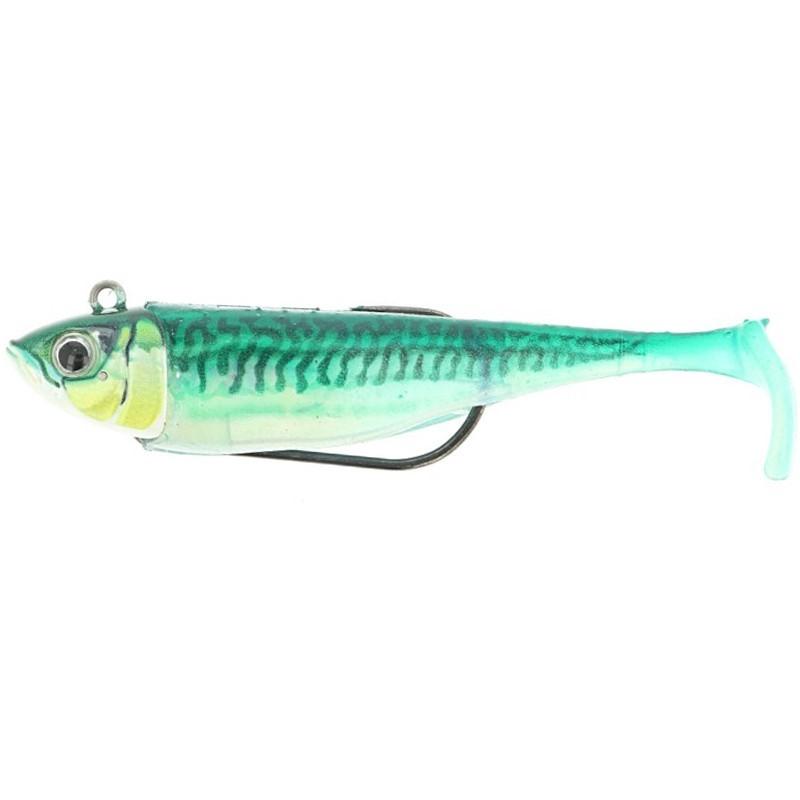 Storm Biscay Shad 9cm Green Mackerel