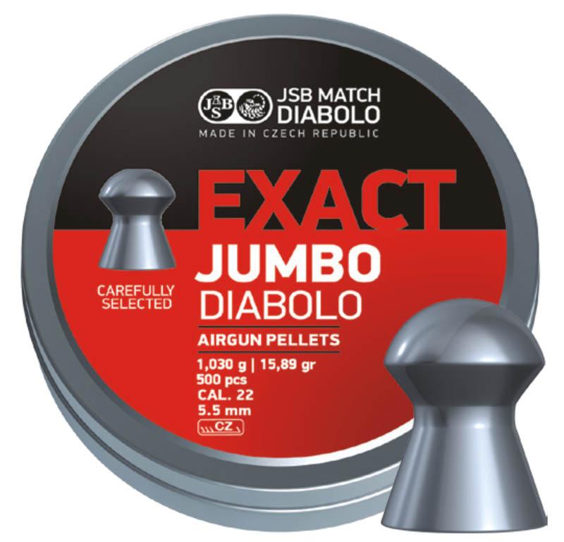 JSB EXACT JUMBO 5.5 15.89GR (500 unids)
