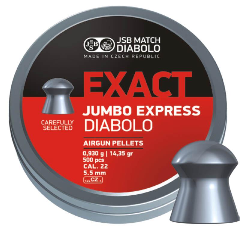 JSB EXACT JUMBO EXPRESS 5.5 14.3GR (500 unids)