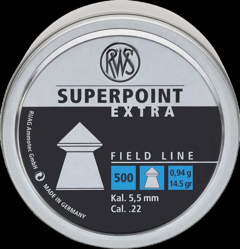 RWS SuperPoint Extra 5.5 14.5gr (500 unids)