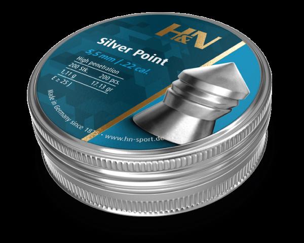 H&N Silver Point 5.5 17.13gr