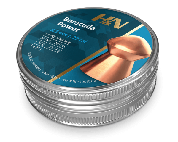 H&N Baracuda Power 5.5 21.14gr