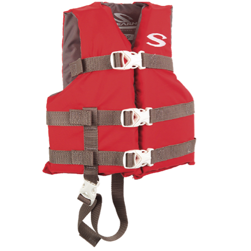 Stearns Salvavidas rojo niños