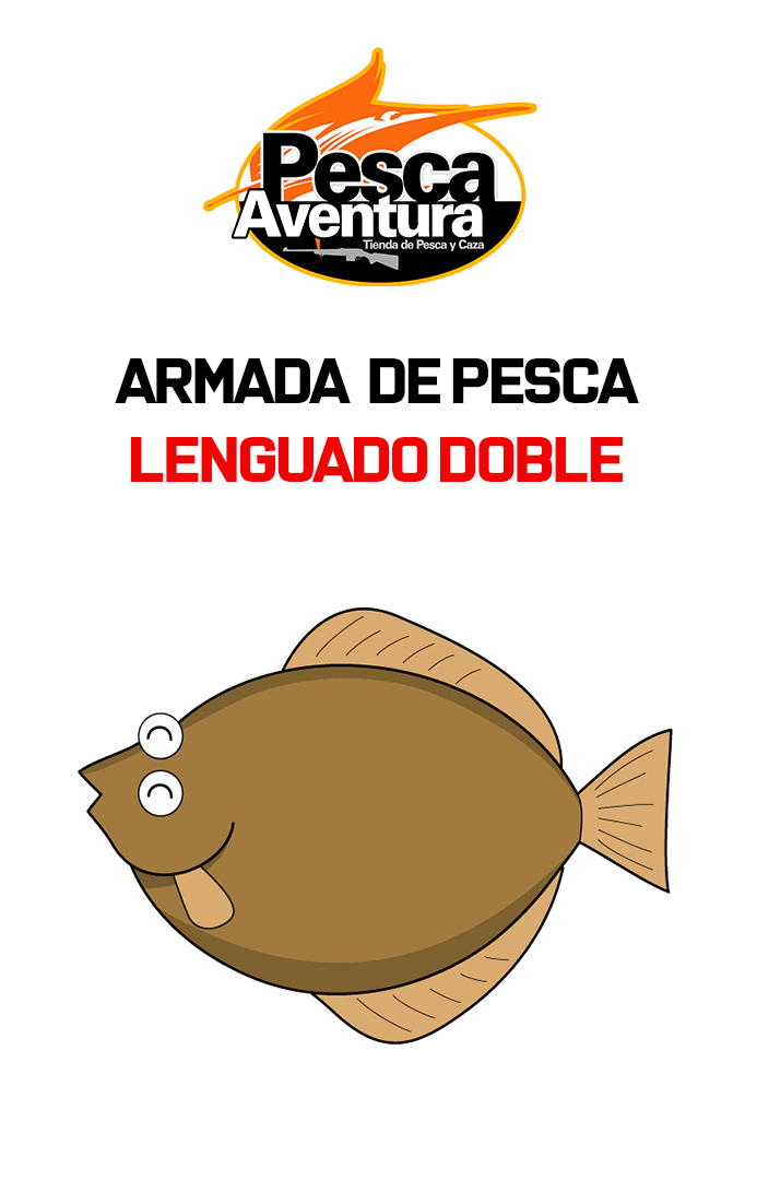 Armada lenguado doble N°4
