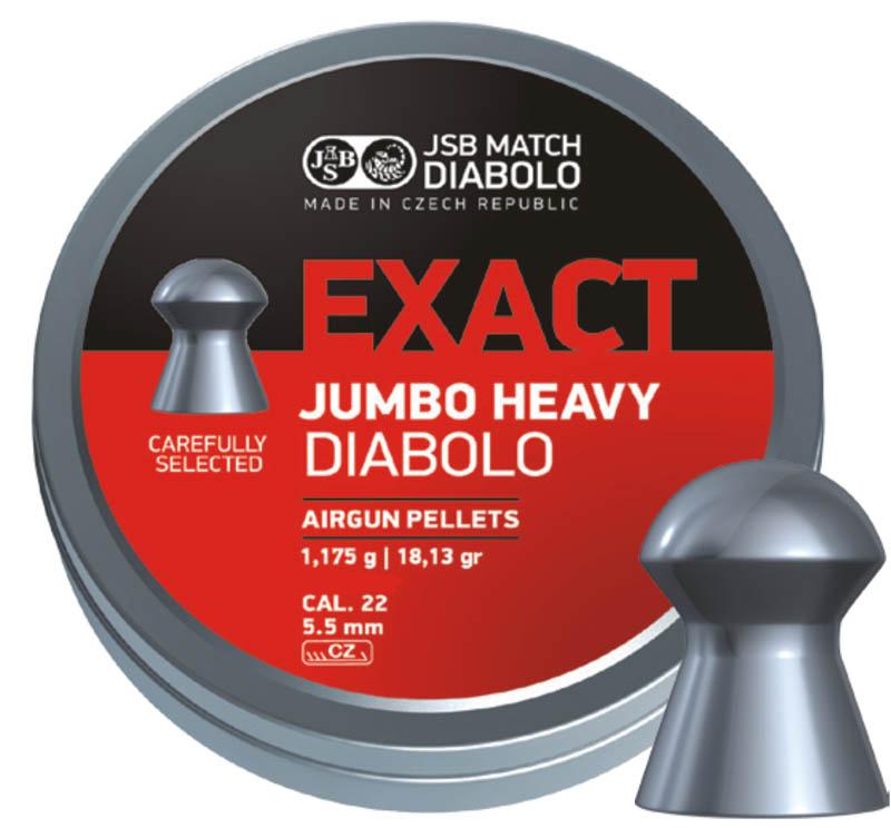 JSB Exact Heavy 5.5 18.13Gr (500 Unids)