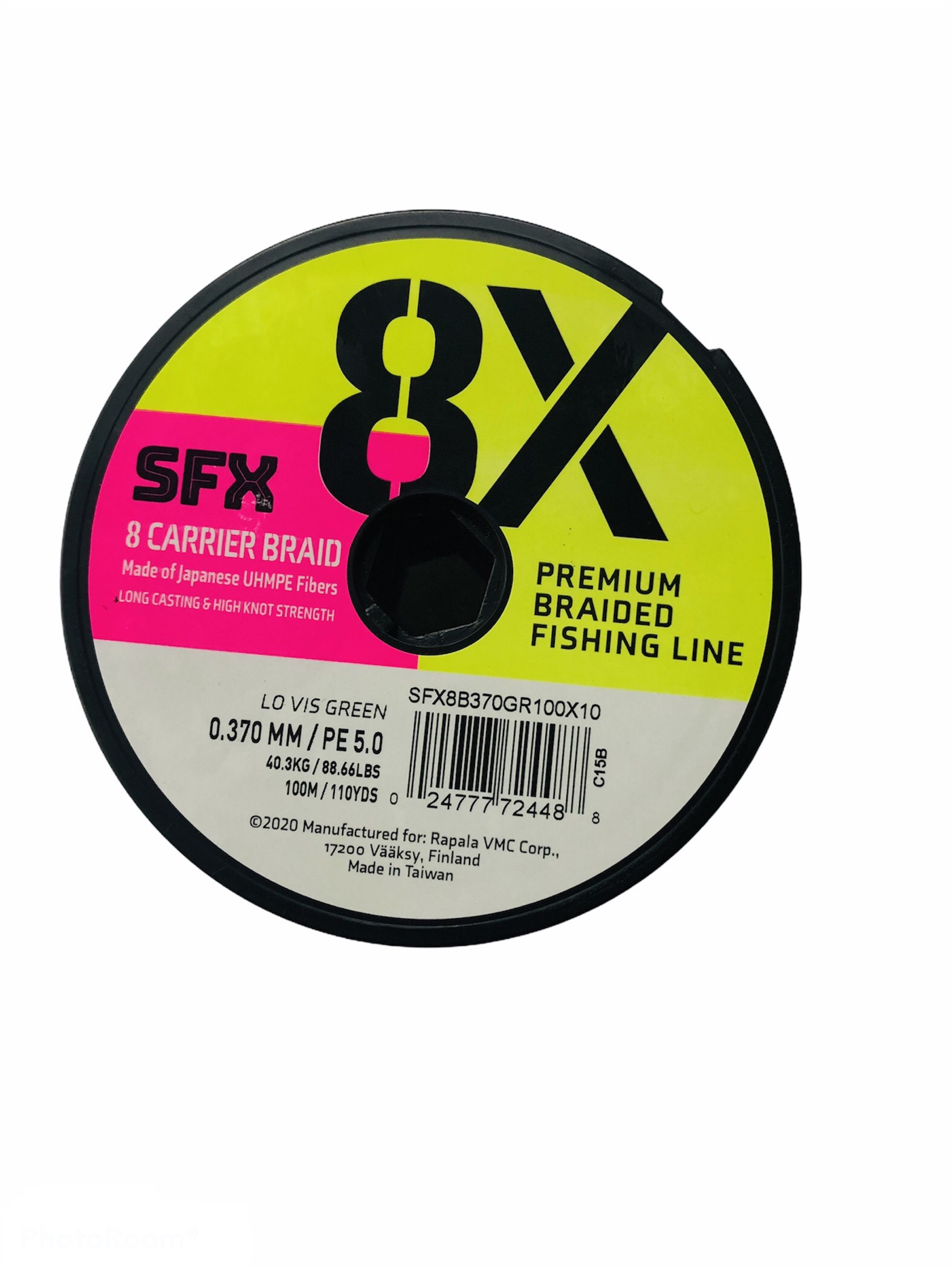 SUFIX SFX 8X 0.37 MM / 200 MT (verde oscuro)