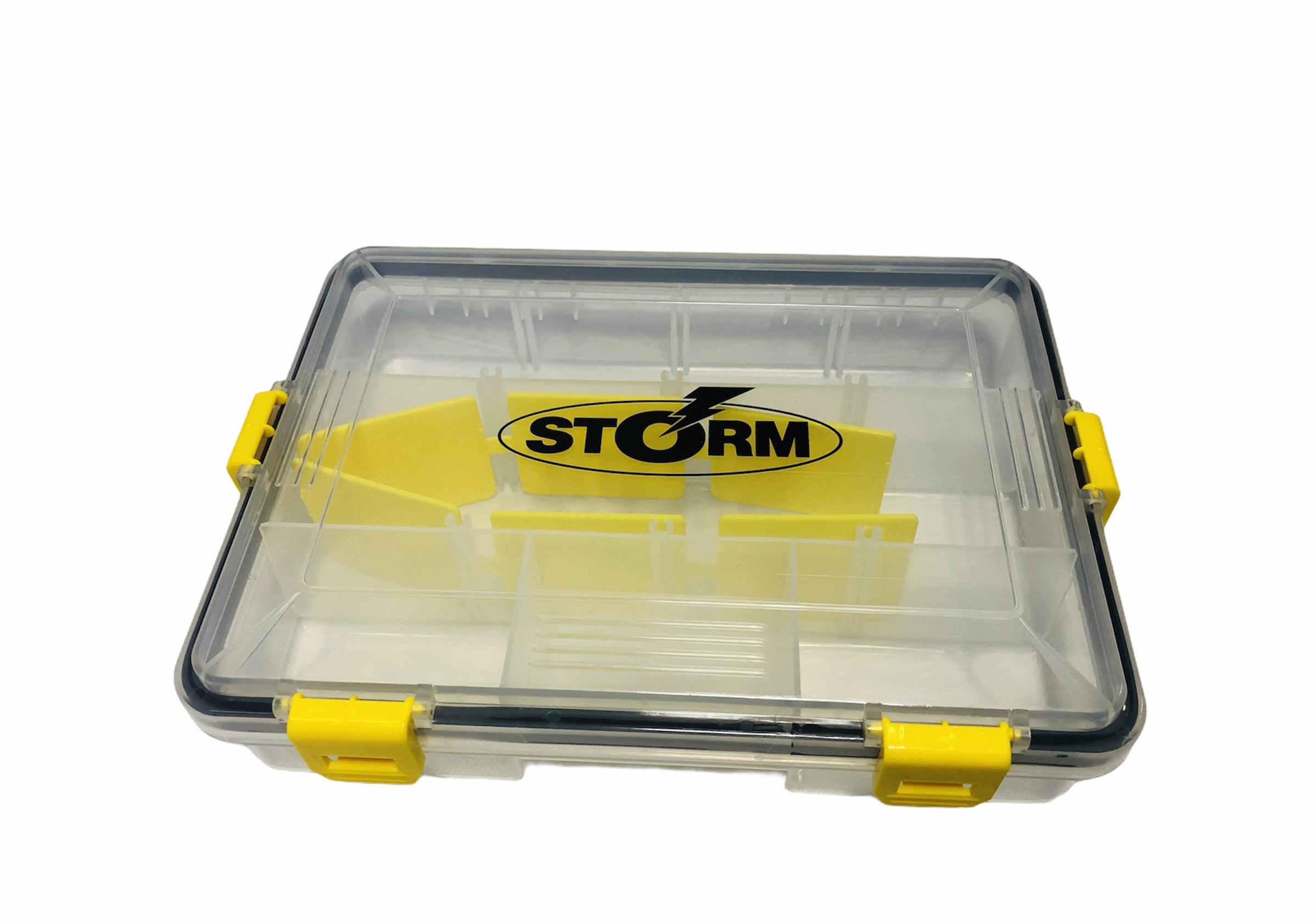caja storm señuelos
