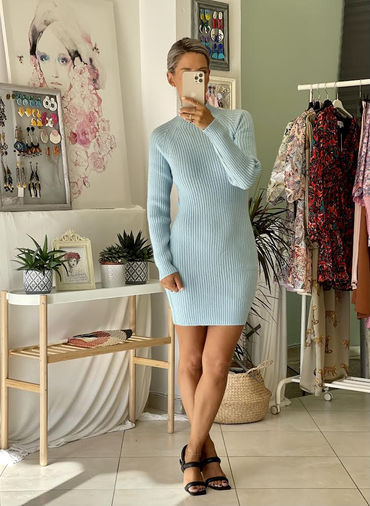 Alicia Sky Dress