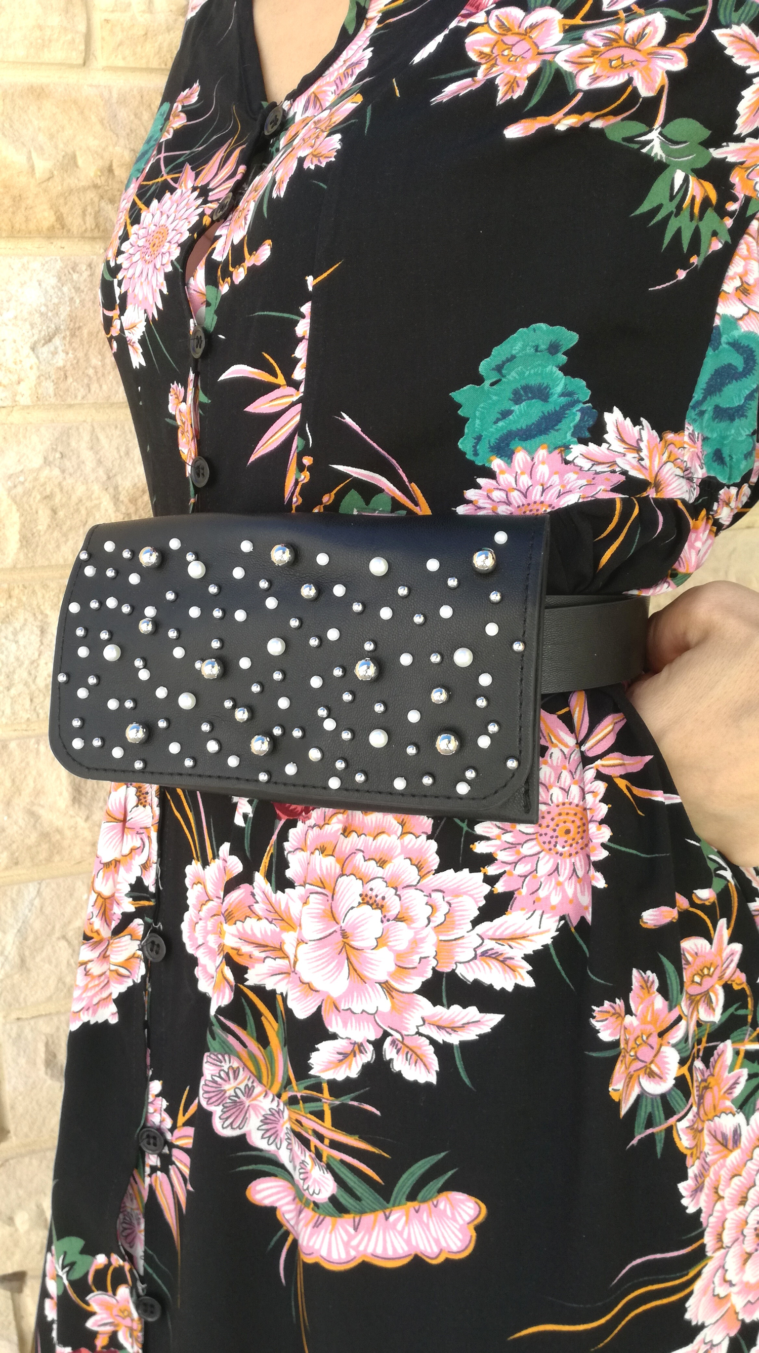 Pearly Belt Bag