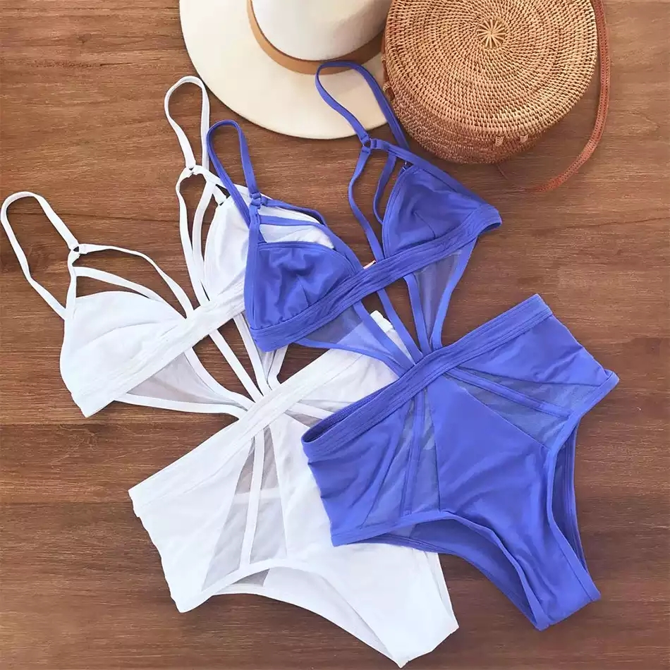 Aegean Blue Swimsuit