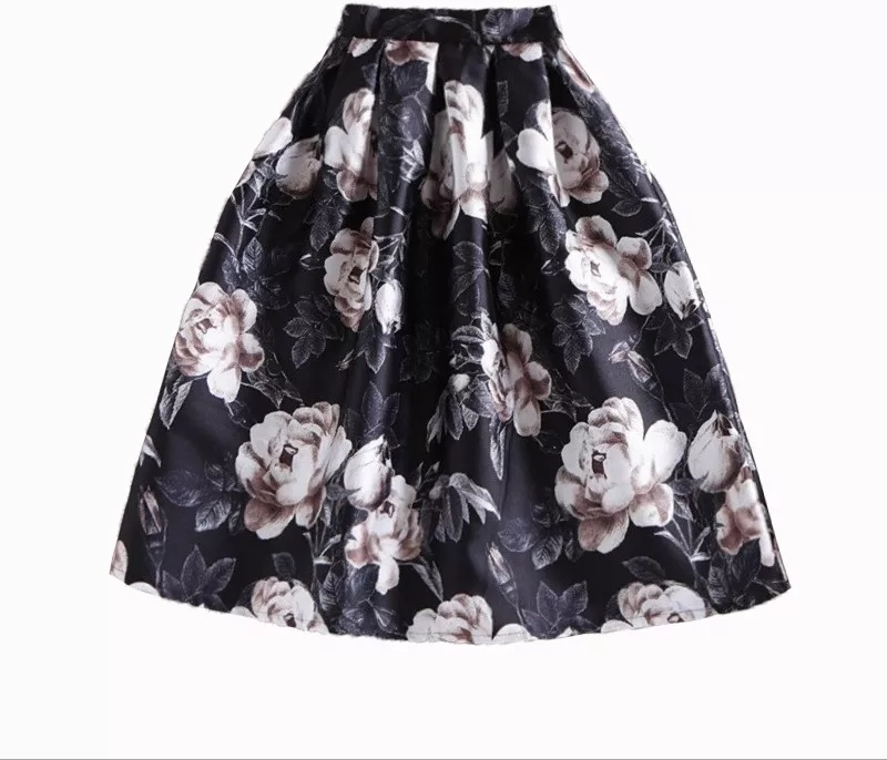 Dark Rose Skirt