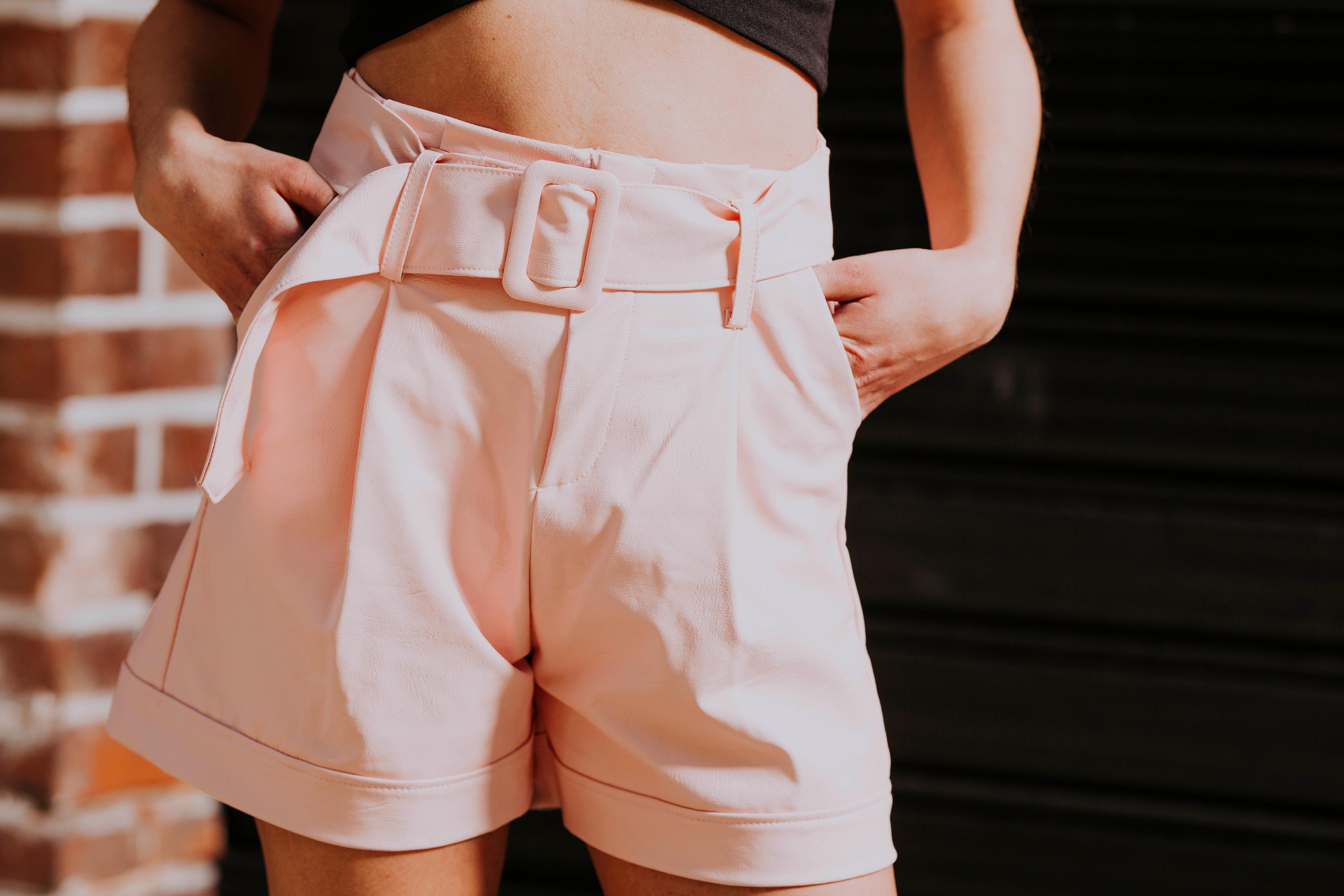 Sweet PU Shorts