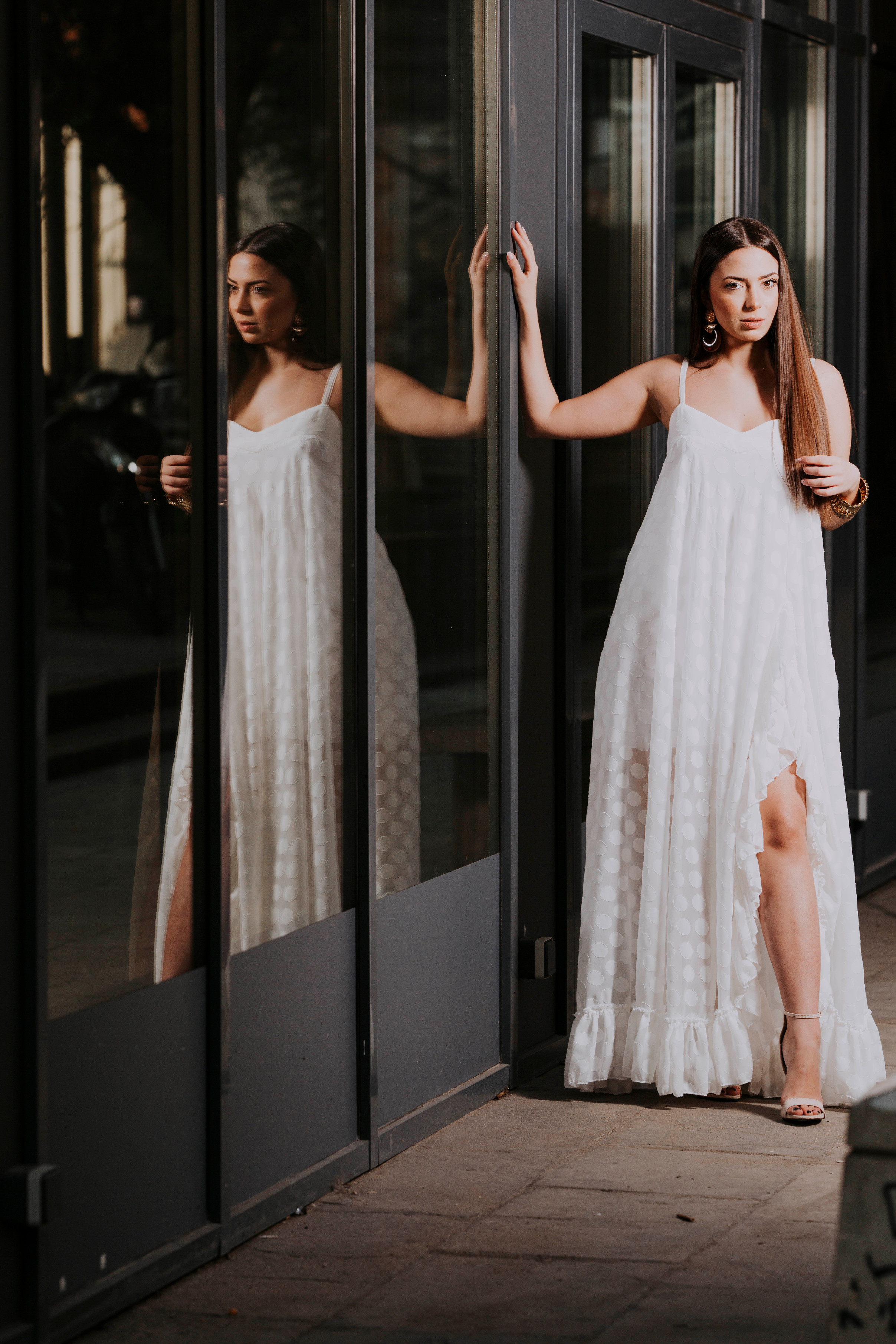 Ophelia White Dress