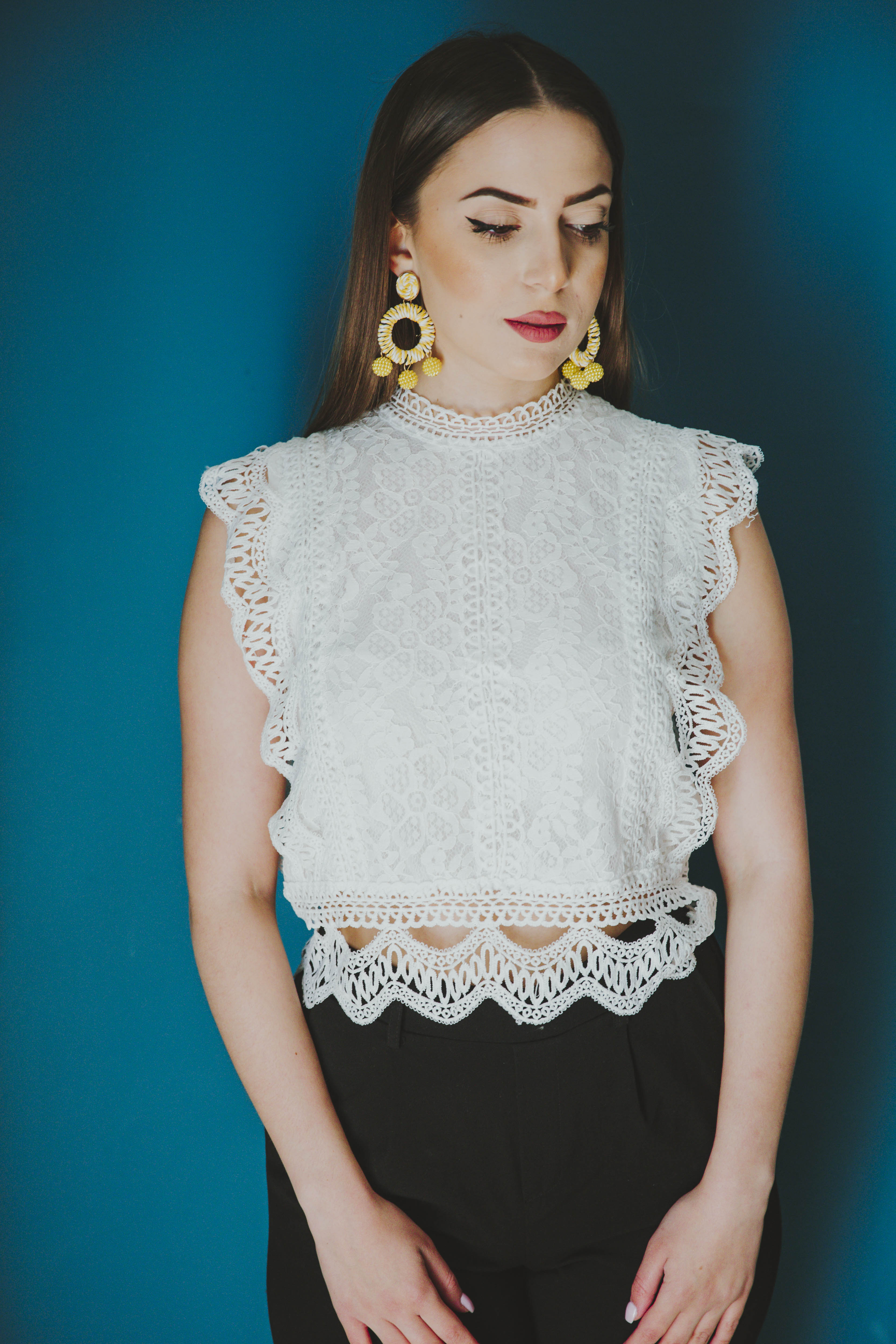 Lilly White Top