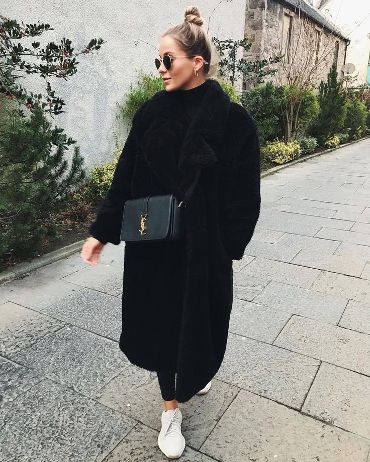 Black Teddy Coat