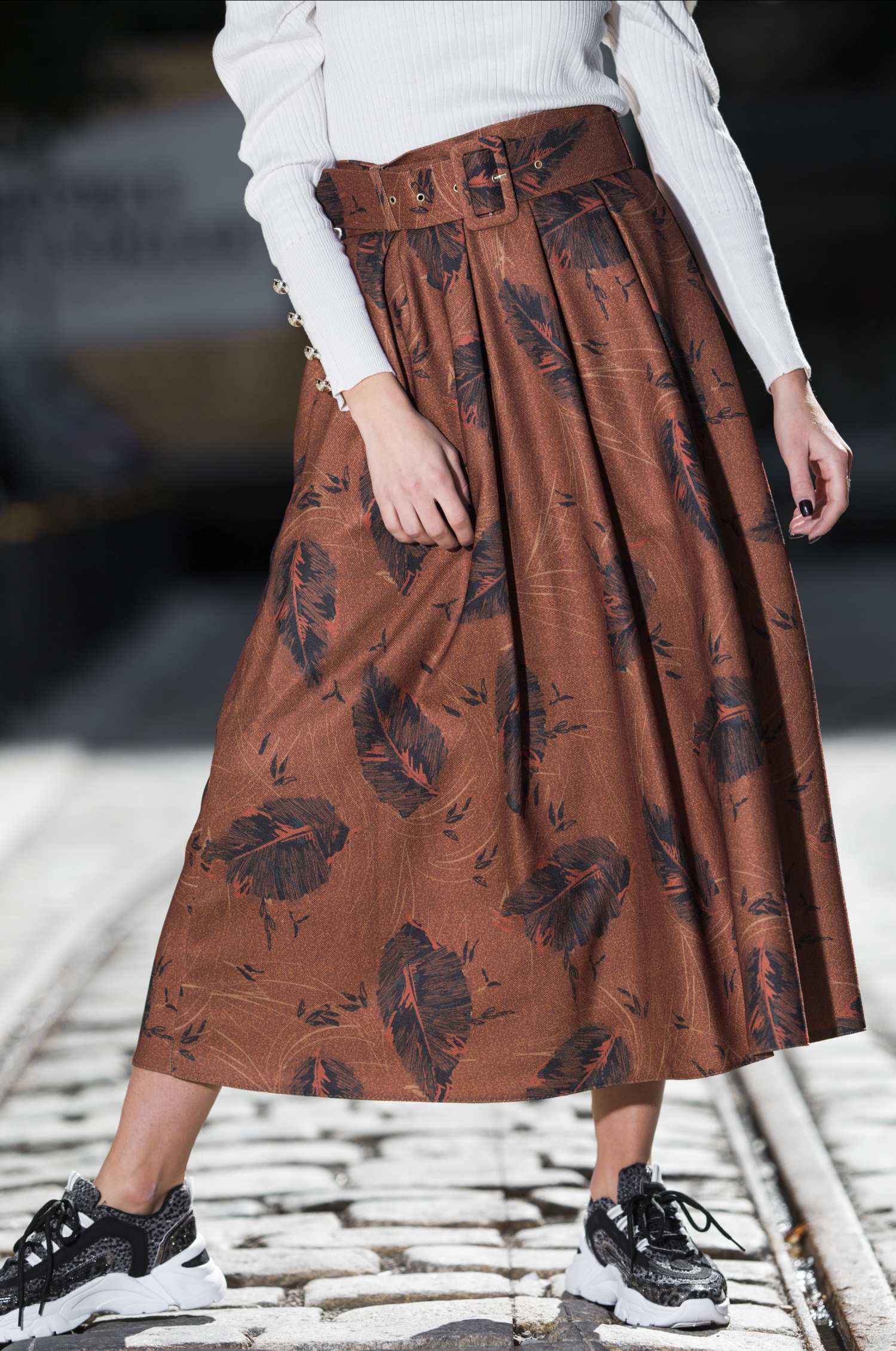 Ingrid Cinnamon Skirt