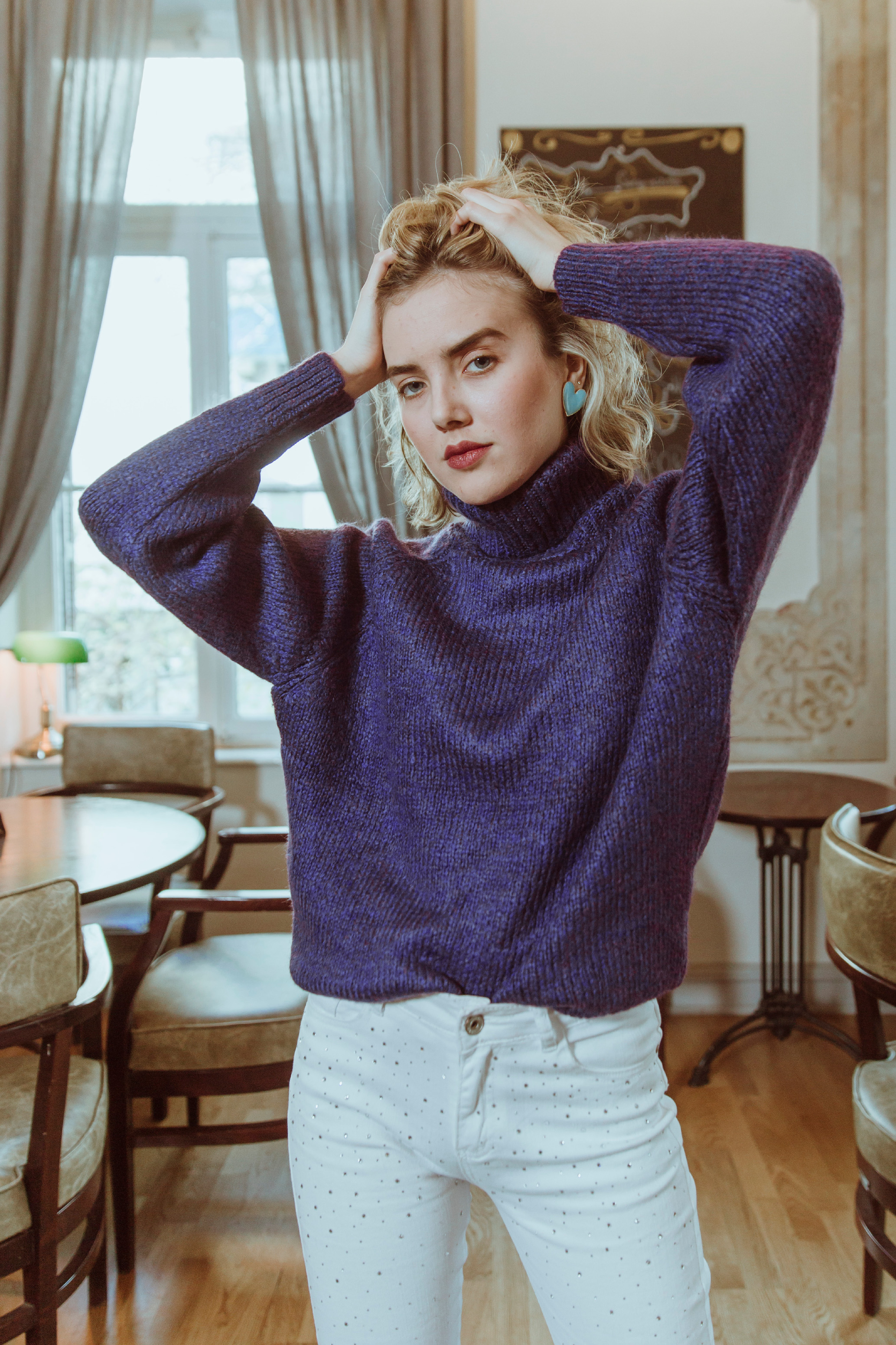 Lilac Strong Sweater