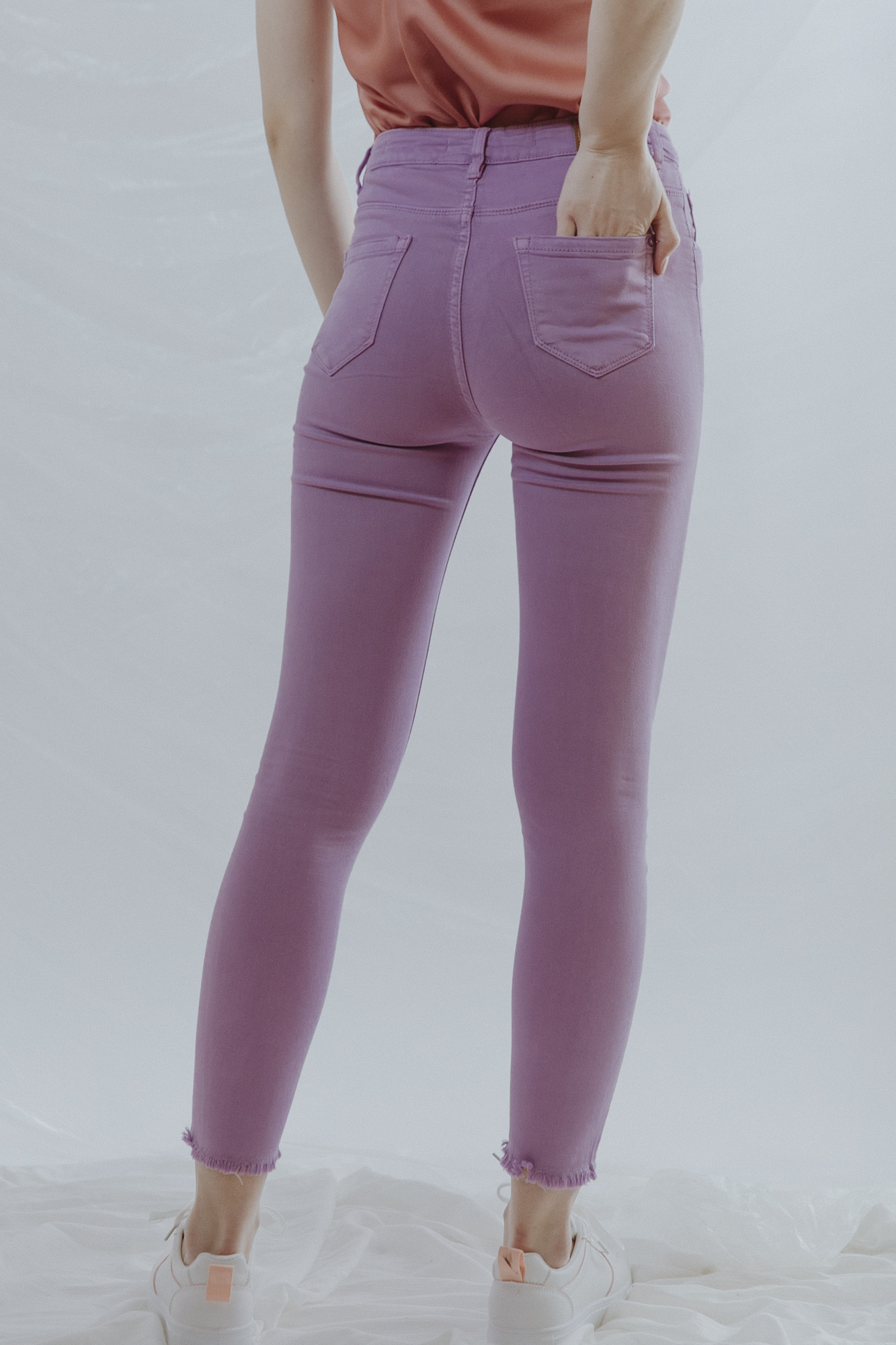 Kate Purple Skinny Jeans