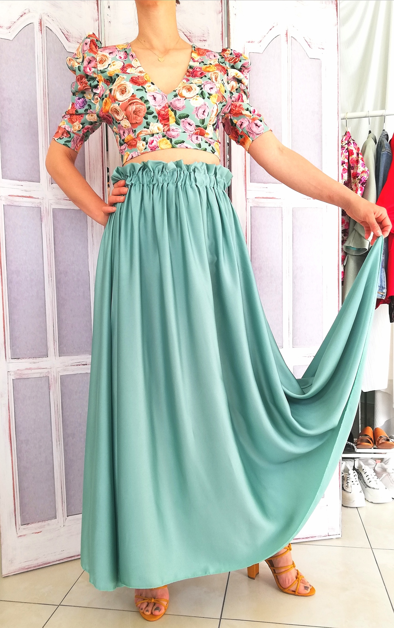 Mermaid Green Skirt