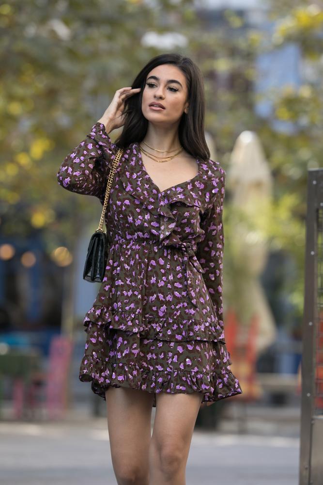Happy Hour Purple Dress