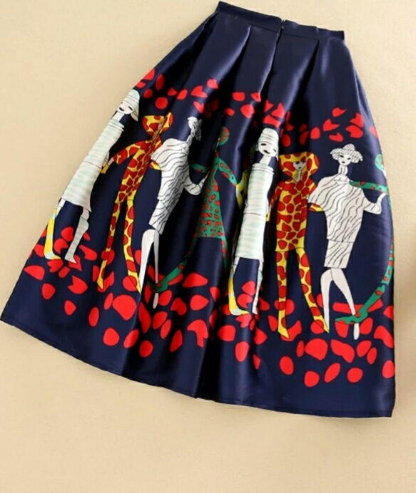 20s Ladies Midi Skirt