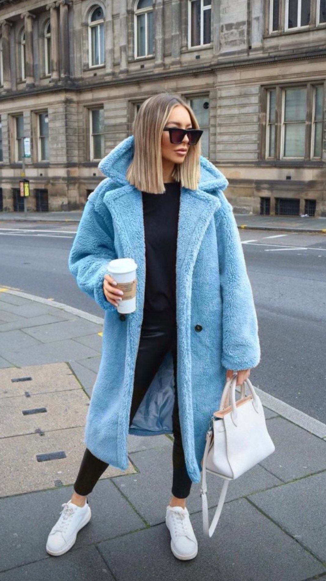 Teddy Sky Coat