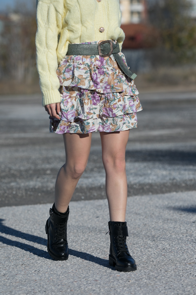 Meive Lilac Skirt