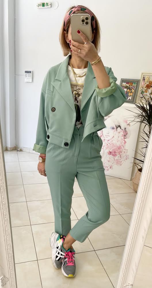 Pistachio Gatsby Suit