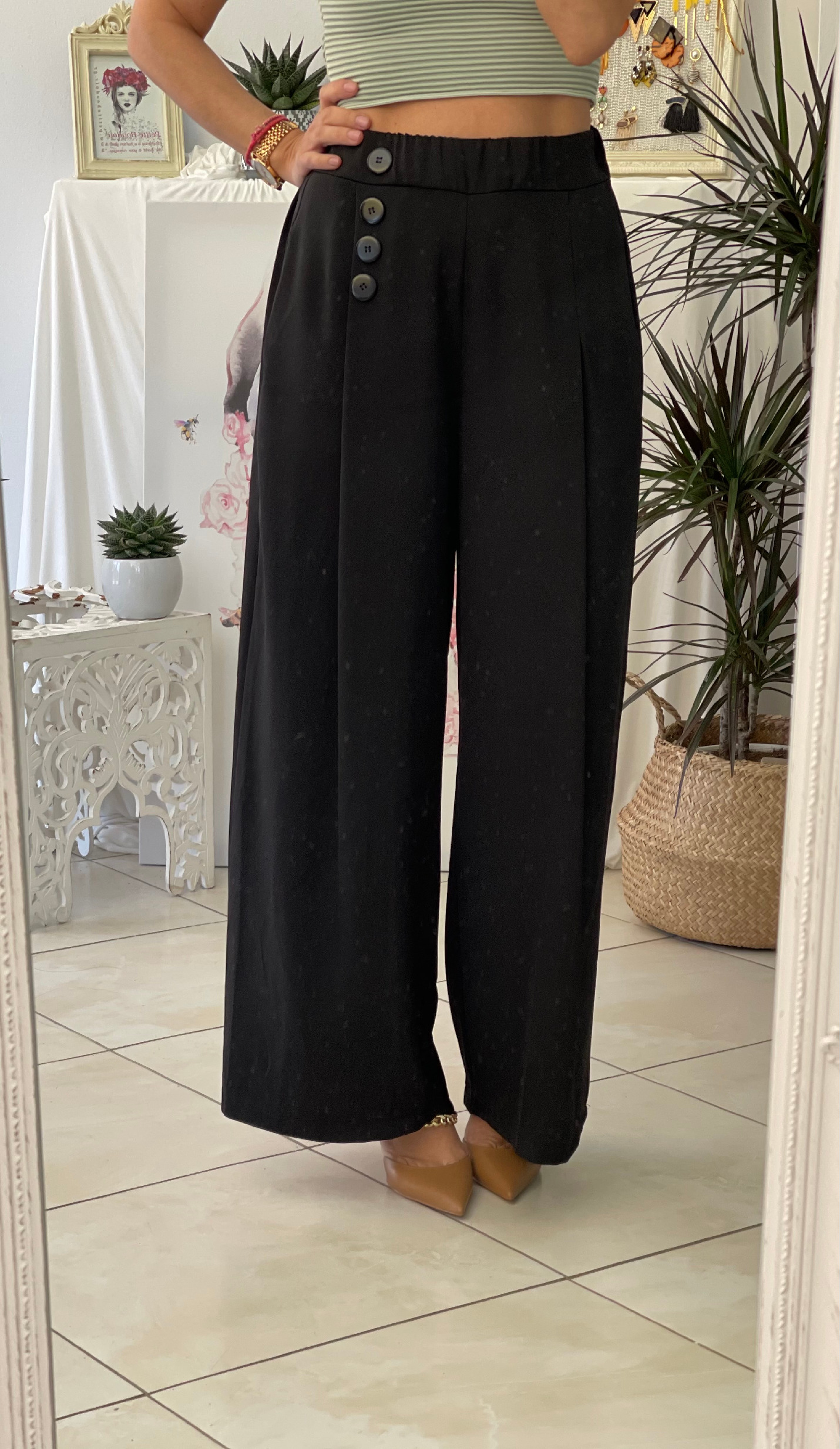 Black  Passion Trousers