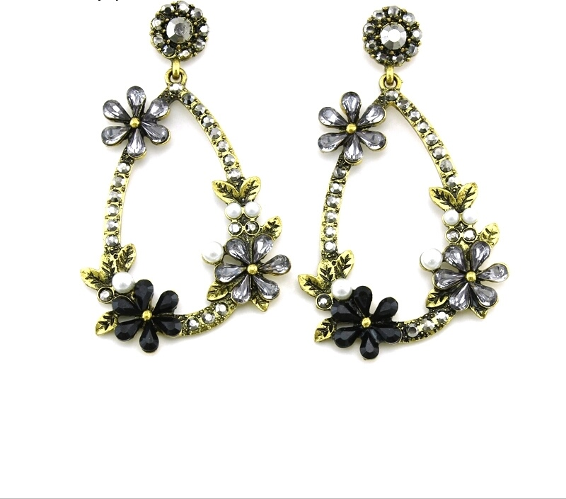 Vintage Strass Earrings