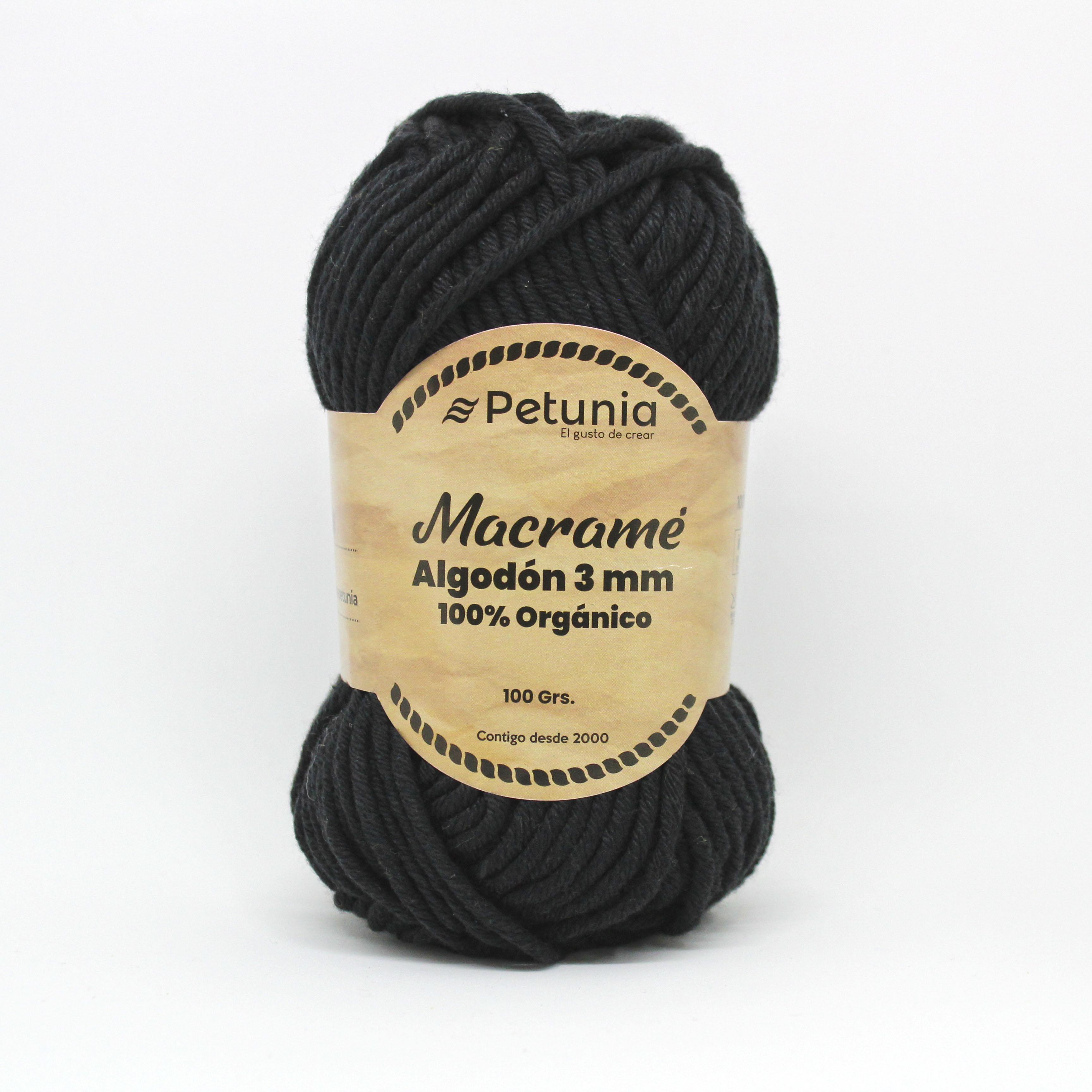 MACRAME ALGODON 3 MM - 6003
