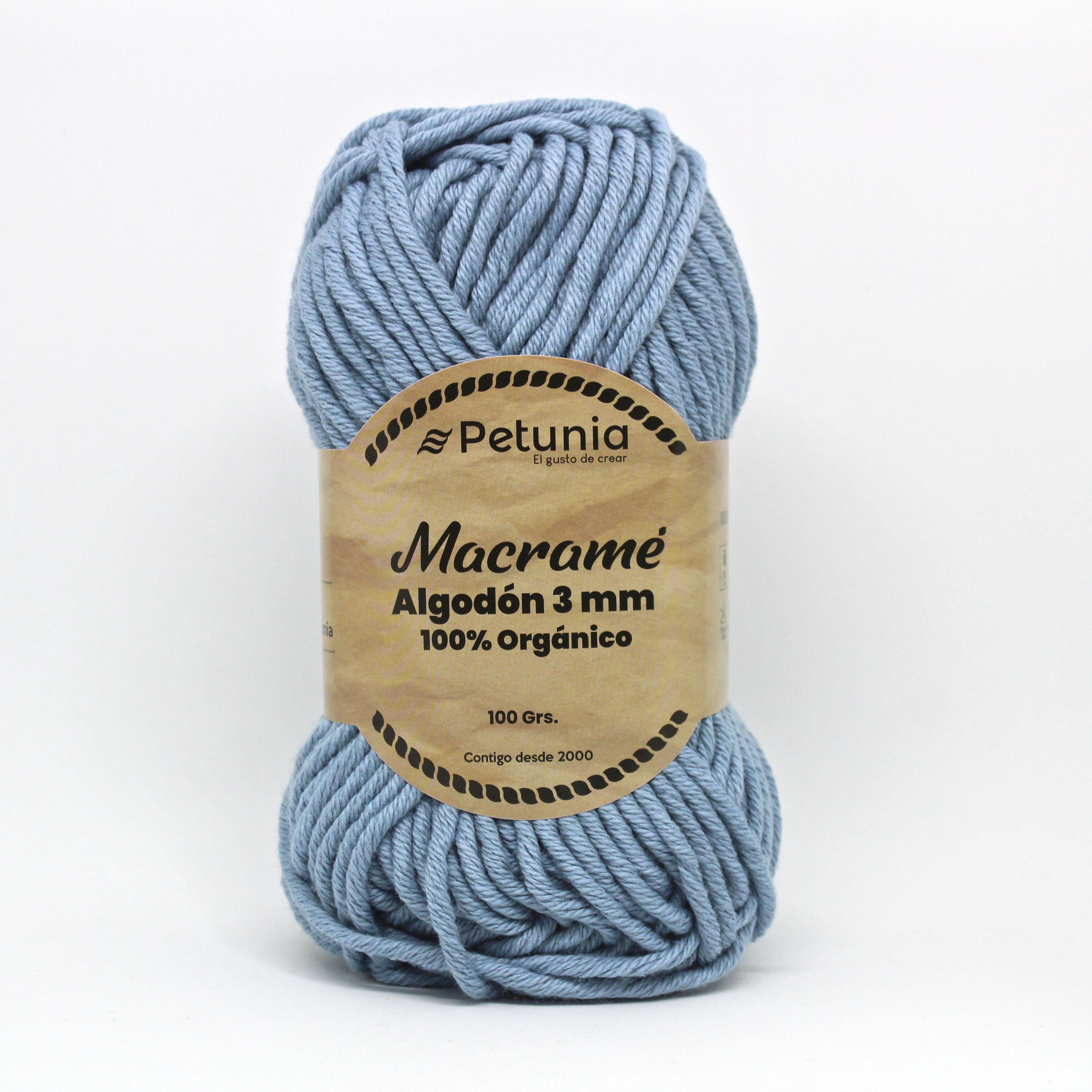 MACRAME ALGODON 3 MM - 6012