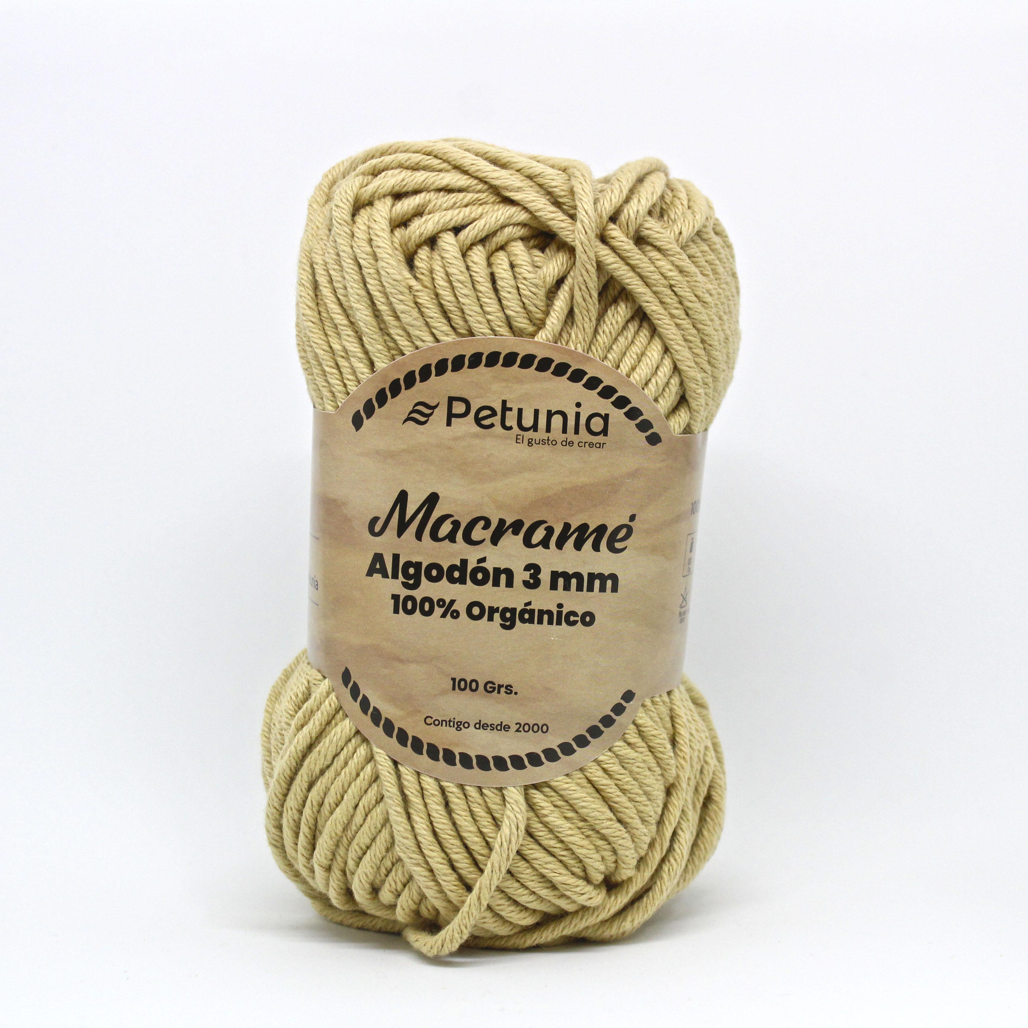 MACRAME ALGODON 3 MM - 6013