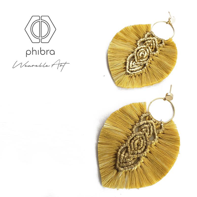 Aros Hebras II Amarillo Dorado