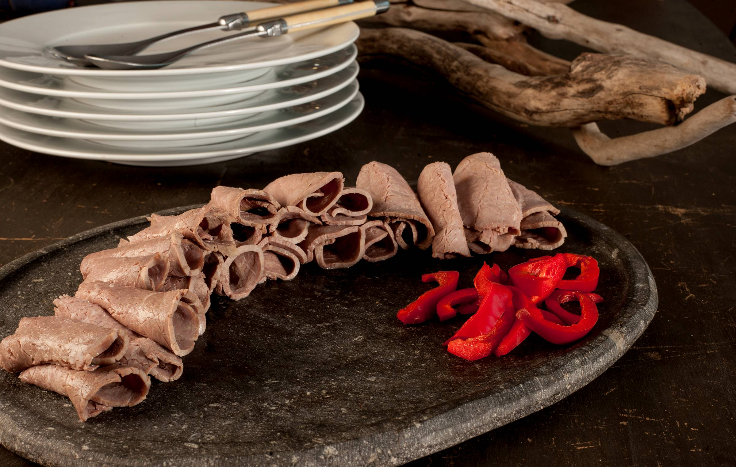 Carne laminada