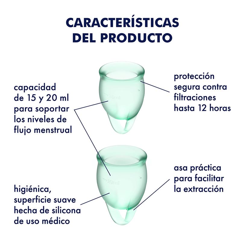 Copas menstruales Satisfyer Feel Confident
