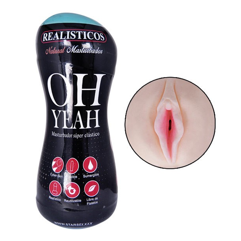 Masturbador Realístico Oh Yeah