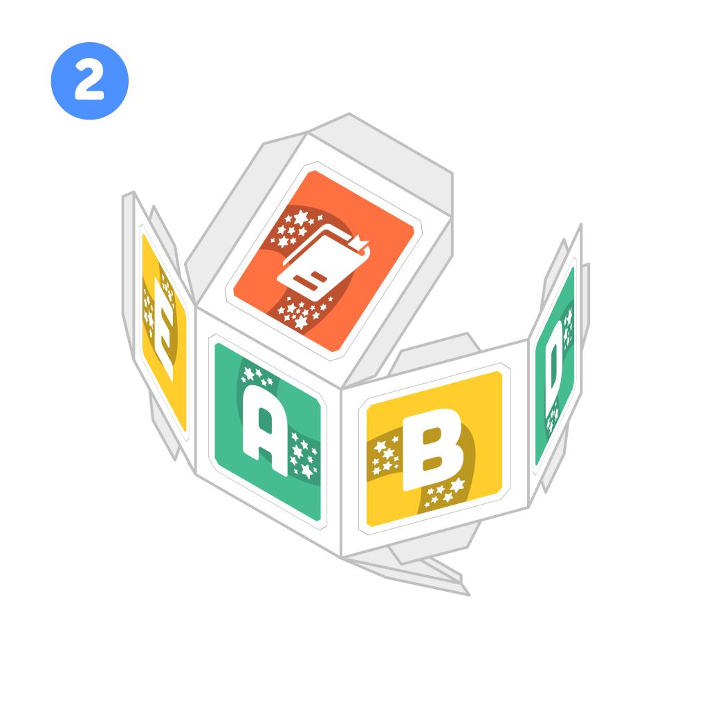 PleIQ Digital (8 Cubos) - Para imprimir y armar en casa