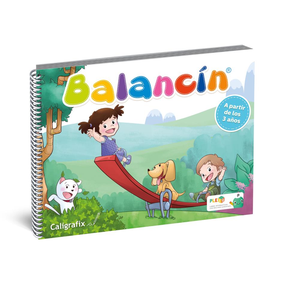 Cuaderno Interactivo - Balancín Caligrafix
