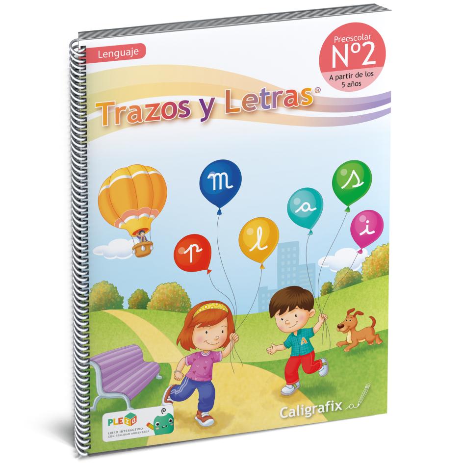 Cuaderno Interactivo - Trazos y Letras Nro. 2