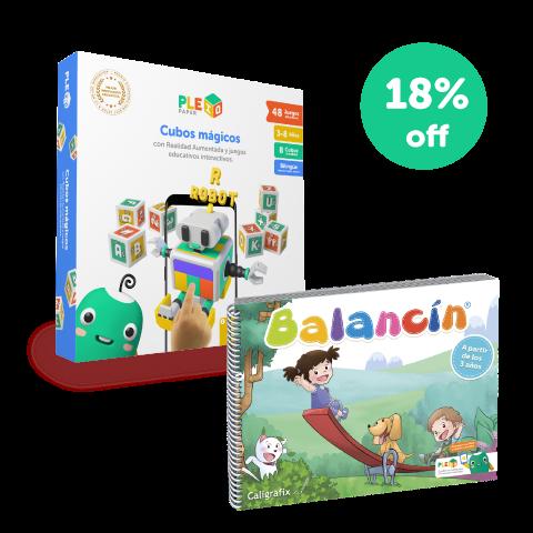 Kit PleIQ Paper + Balancín